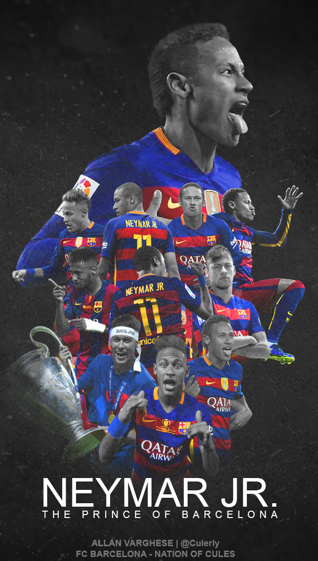 Neymar Jr Lock Screen Wallpaper